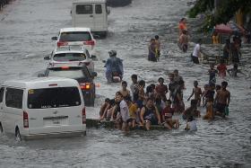 4 dead, 6 missing after major storm hits Manila