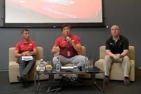 The future's bright for Team Singapore