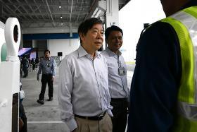 Transport Minister Khaw Boon Wan