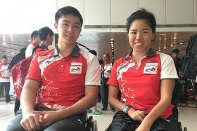 Looking to do Singapore proud at Asean Para Games