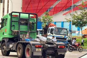 Motorcyclist killed in accident with prime mover in Jurong