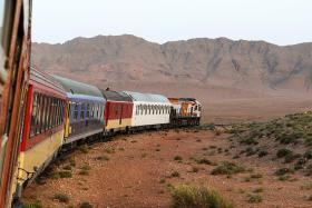 Sand, stars on board Desert Express