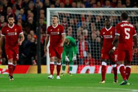 Dejan Lovren's (No. 6) inability to instil confidence in the defence will prove a huge problem for Liverpool to overcome this season.