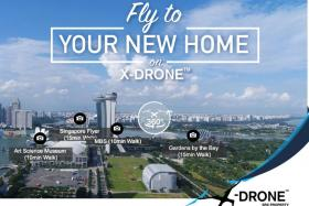 SRX Property's X-Drone will allow home seekers to visualise the surrounding neighbourhood.