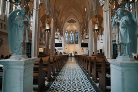 The Church of St Alphonsus, popularly known as Novena Church, can accommodate 1,500 worshippers in air-conditioned comfort.