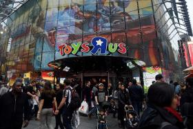 Singapore's Toys 'R' Us open for business
