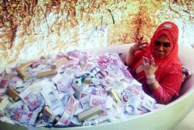 Splashing the cash