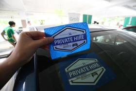 National Private Hire Vehicles Association asks Iras to tax drivers in 'fair manner'