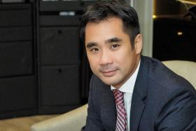 Steven Lam, managing director of Hugo Boss South East Asia.
