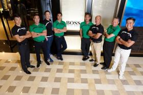 Making its debut is Team Boss led by captain Ivan Chua (fourth from right).