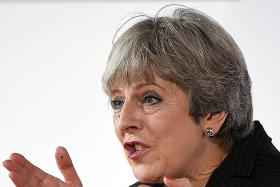 Have a two-year transition period after Brexit: May