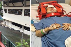Elderly widow found injured in Bedok church
