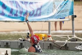 Asians can excel in open-water swimming