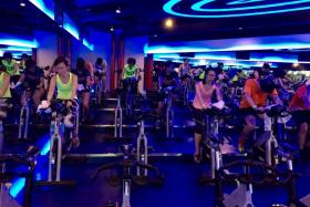 Spinning classes can help runners avoid knee problems.