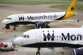 Monarch airplanes
