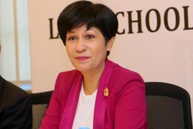 Ms Indranee Rajah.