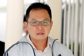Daniel Wong Mun Meng. PHOTO:THE STRAITS TIMES Teacher paid masseuse with counterfeit $100 notes