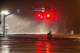 Tropical storm Nate weakens over Alabama