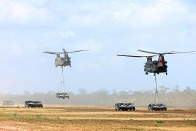 Commanders' mindset key to safety: Ong Ye Kung
