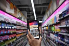 Shopping goes hi-tech at Paya Lebar mall