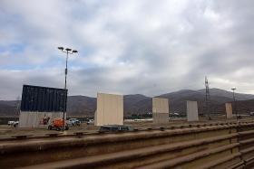 First look at border wall