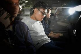 Wee Boon How, 22 was charged in court for repeatedly stomping on a victim's face at Golden Mile Complex.
