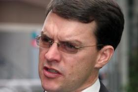 Trainer Aidan O'Brien.