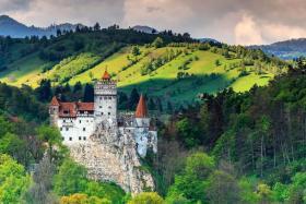 (Above) Bran Castle in Romania.
