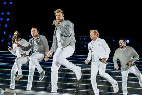 Backstreet Boys in Singapore