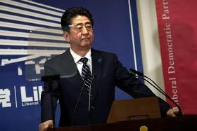 Abe seeks agreement among parties