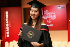 Both Miss Teo Jia En and Mr Kelvin Tay have benefited from the Singapore Institute of Technology's Integrated Work Study Programme.