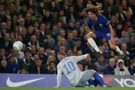 Youngsters brighten Conte's day