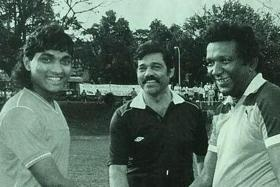 Football fraternity mourns passing of Sundram's dad