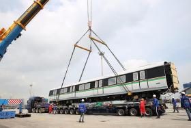 New trains approaching