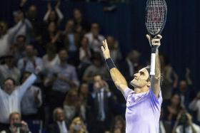 Federer bags eighth Basel title in 'gratifying' win over del Potro