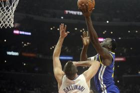 Warriors bounce back against Clippers