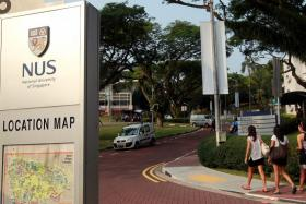 Locked-out student falls to death in NUS