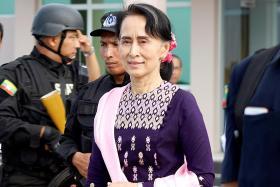 Suu Kyi falls seven spots in most powerful women list