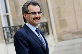Prince Alwaleed bin Talal.