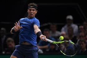 Nadal in race against time for Tour Finals