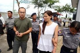 Singaporean, Malaysian journalists get two months' jail in Myanmar