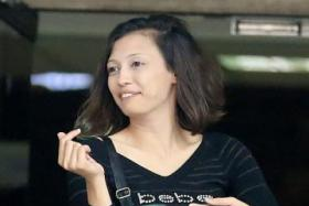 The judge said Siti Zahara Afifi Abdul Karim (above) behaved in an ''extremely aggressivemanner''.