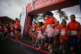 Over 13k participants in women's run
