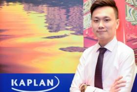 Mr Sylvester Yew says the lecturers at Kaplan are experienced and patient.