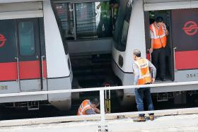 Software glitch caused second train to misjudge distance: SMRT