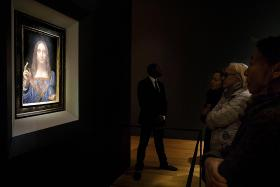 Da Vinci work fetches record $611m