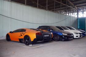 Two sports cars forfeited over illegal Seletar race