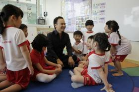 Founder and CEO of MindChamps PreSchool David Chiem.