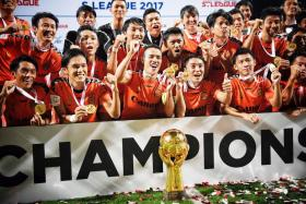 Albirex sign off in style