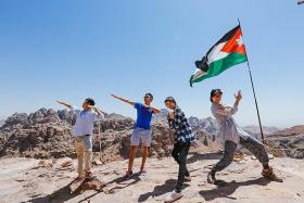 NTU student takes aid to refugees in Jordan